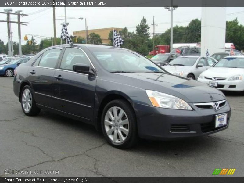 2007 Honda Accord LX V6 Sedan in Graphite Pearl Photo No. 15227337 ...