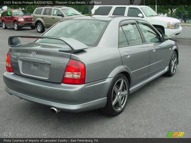 2003 mazda protege mazdaspeed in titanium gray metallic. Black Bedroom Furniture Sets. Home Design Ideas