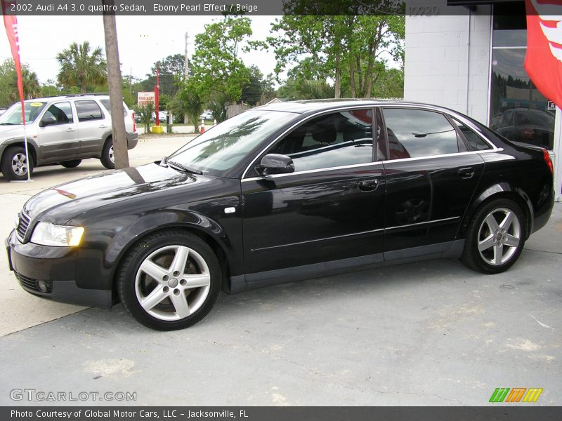 2002 audi a4 3 0 quattro sedan in ebony pearl effect photo. Black Bedroom Furniture Sets. Home Design Ideas
