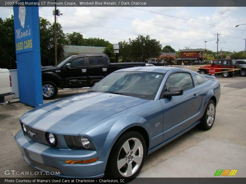 2007 Ford Mustang Gt Premium Coupe In Windveil Blue