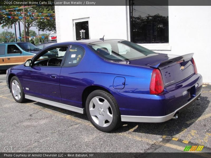2006 chevrolet monte carlo ss in laser blue metallic photo. Black Bedroom Furniture Sets. Home Design Ideas