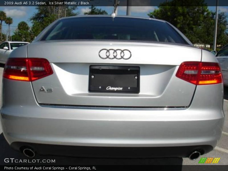 2009 Audi A6 3.2 Sedan in Ice Silver Metallic Photo No. 15475270 ...