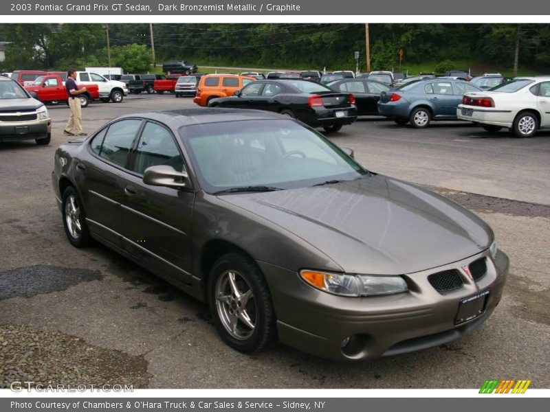 2003 pontiac grand prix gt sedan in dark bronzemist. Black Bedroom Furniture Sets. Home Design Ideas