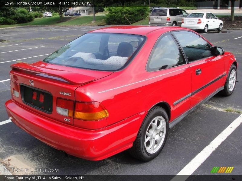 1996 honda civic dx coupe in milano red photo no 15550406. Black Bedroom Furniture Sets. Home Design Ideas