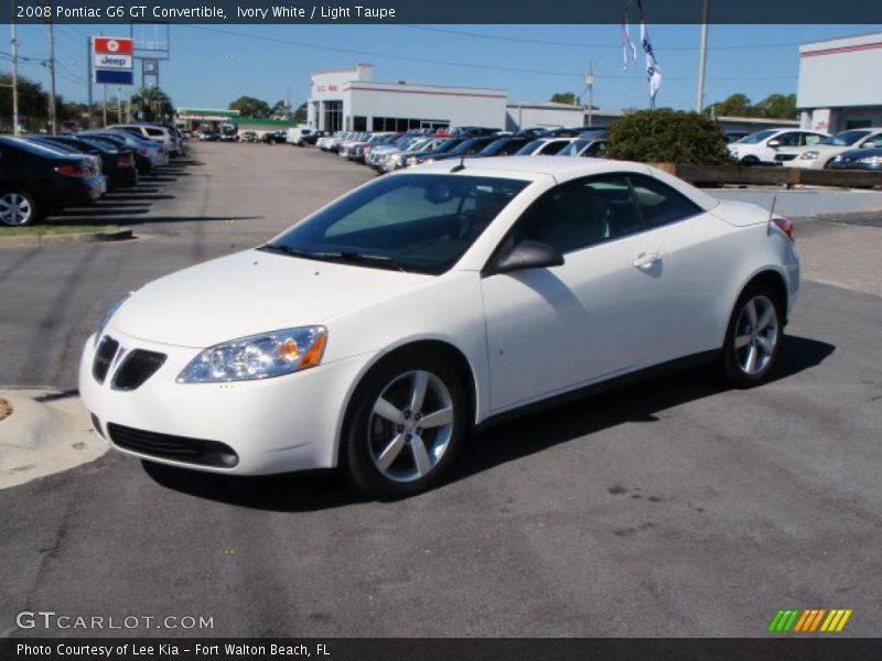 2008 pontiac g6 gt convertible in ivory white photo no 1561555. Black Bedroom Furniture Sets. Home Design Ideas