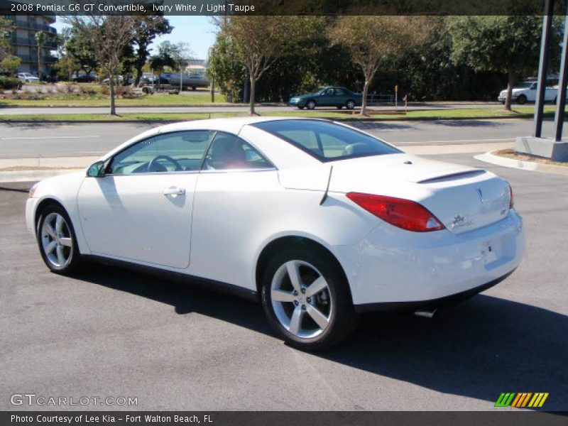 2008 pontiac g6 gt convertible in ivory white photo no 1561560. Black Bedroom Furniture Sets. Home Design Ideas