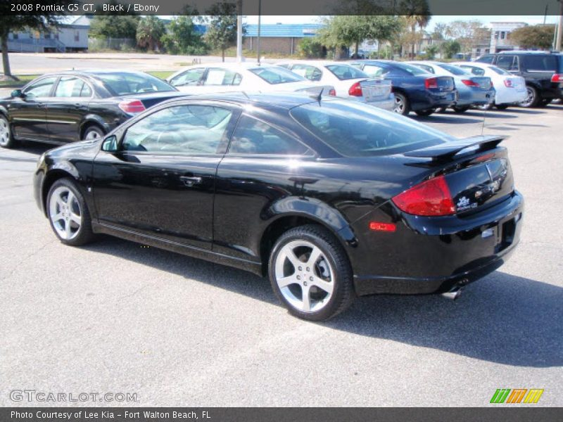 2008 Pontiac G5 Gt In Black Photo No 1562241 Gtcarlot Com