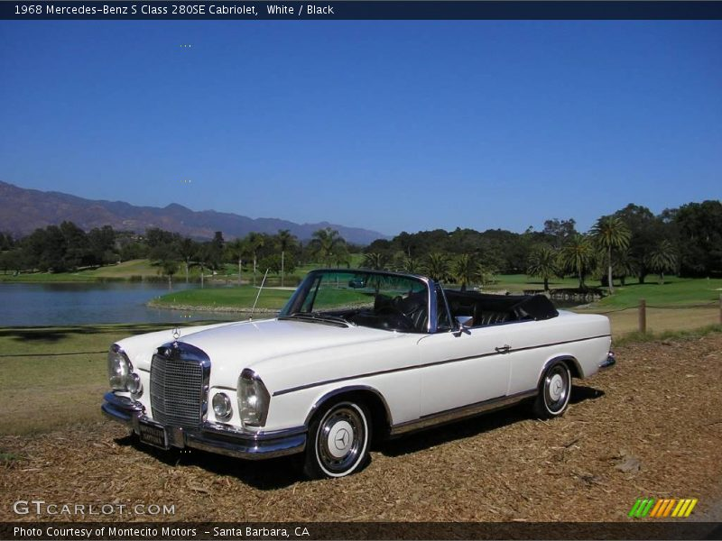 1968 mercedes benz s class 280se cabriolet in white photo for 1968 mercedes benz 280se