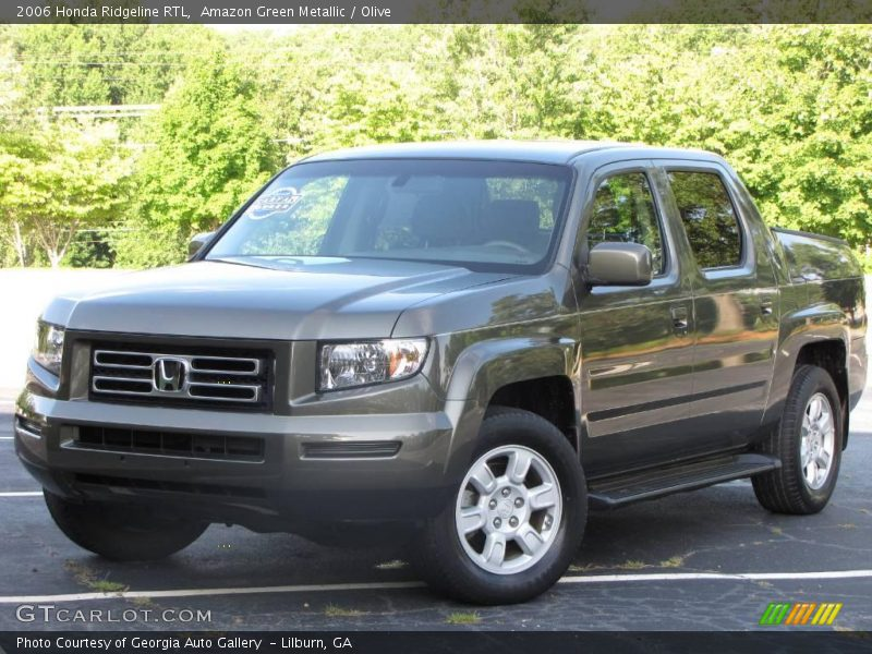 2006 honda ridgeline rtl in amazon green metallic photo no. Black Bedroom Furniture Sets. Home Design Ideas