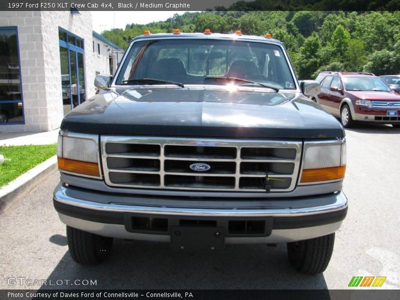 1997 ford f250 xlt crew cab 4x4 in black photo no 15734872. Black Bedroom Furniture Sets. Home Design Ideas