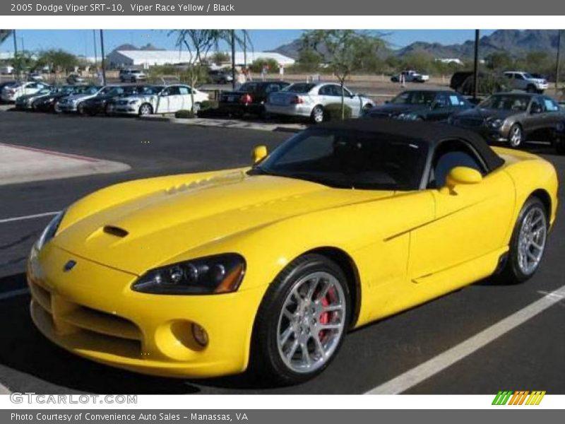 2005 dodge viper srt 10 in viper race yellow photo no. Black Bedroom Furniture Sets. Home Design Ideas