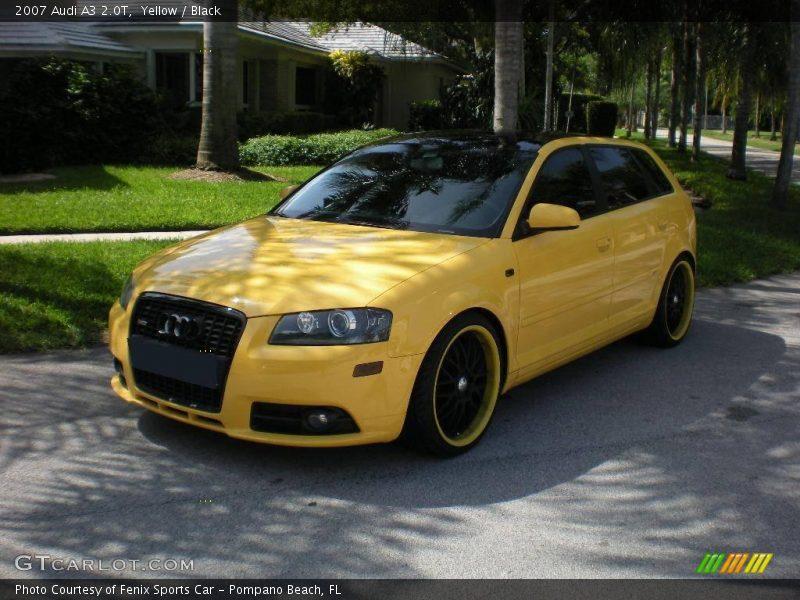 2007 Audi A3 2 0t In Yellow Photo No 15879725 Gtcarlot Com