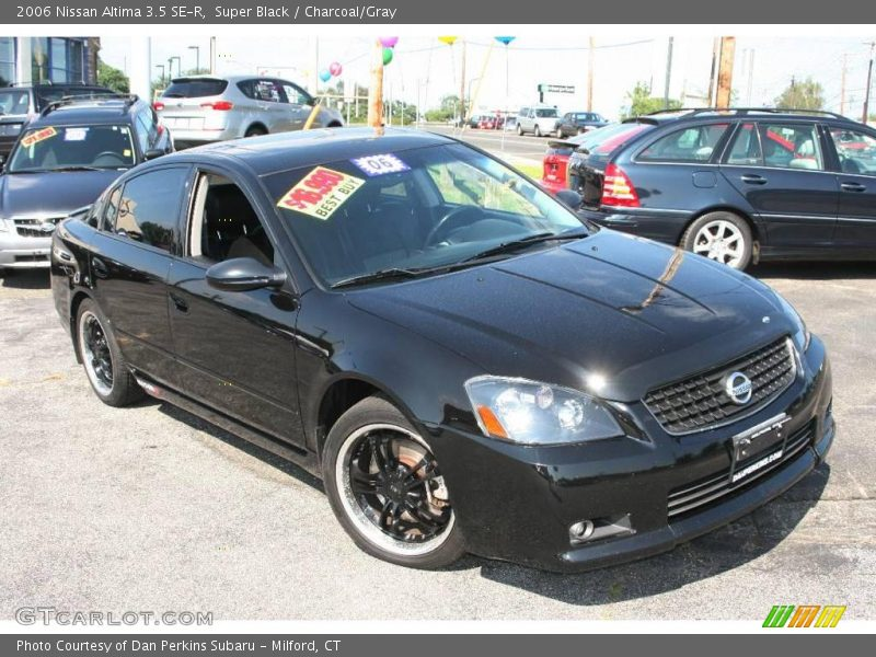 2006 nissan altima 3 5 se r in super black photo no. Black Bedroom Furniture Sets. Home Design Ideas