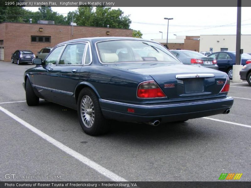 1996 jaguar xj vanden plas in kingfisher blue metallic. Black Bedroom Furniture Sets. Home Design Ideas