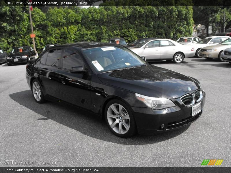 2004 bmw 5 series 545i sedan in jet black photo no. Black Bedroom Furniture Sets. Home Design Ideas