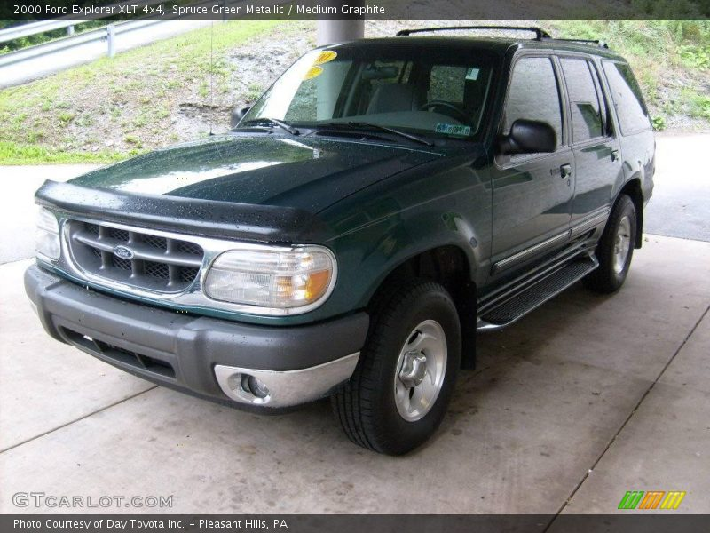 2000 ford explorer xlt 4x4 in spruce green metallic photo. Black Bedroom Furniture Sets. Home Design Ideas