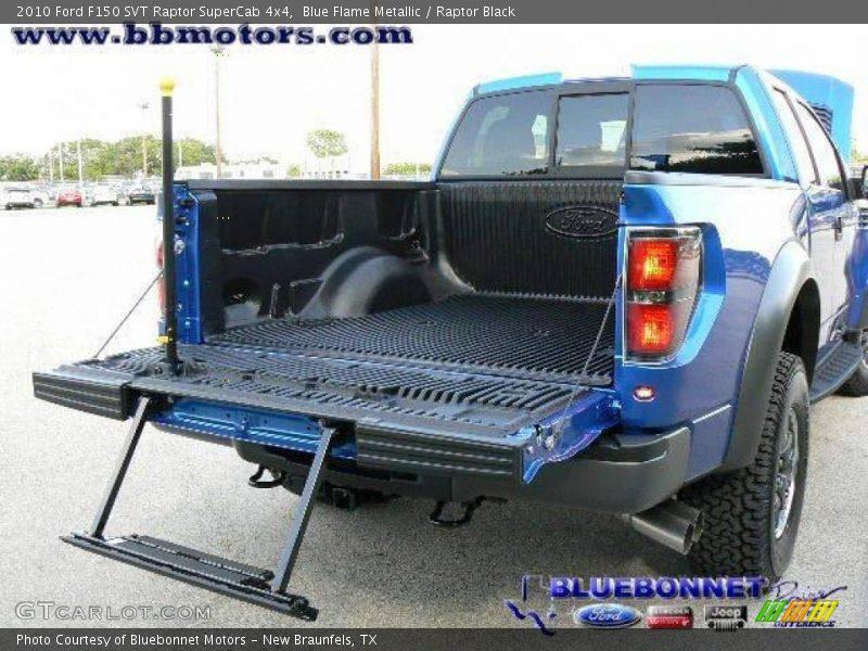 Blue Flame Metallic / Raptor Black 2010 Ford F150 SVT Raptor SuperCab 4x4