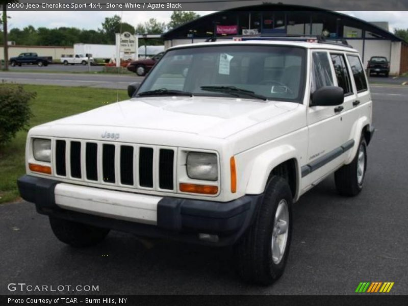 2000 jeep cherokee sport 4x4 in stone white photo no 16053656. Cars Review. Best American Auto & Cars Review