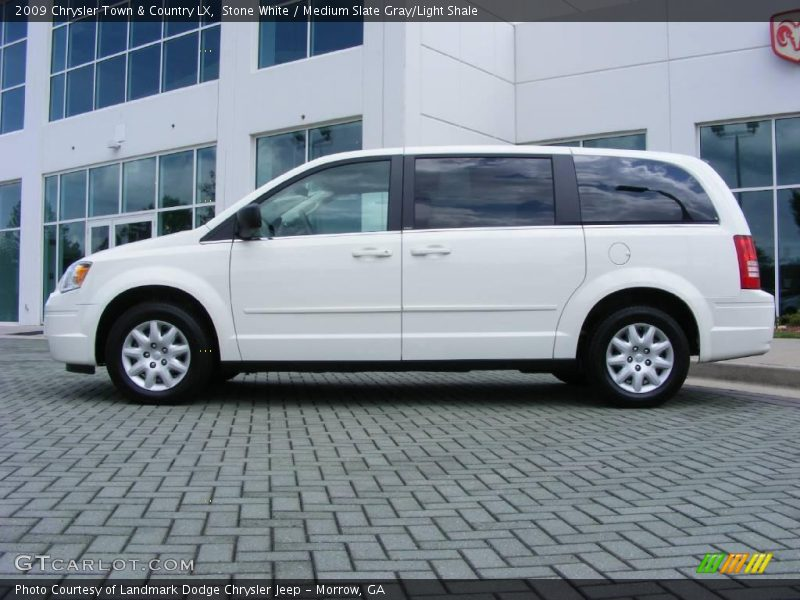 2009 chrysler town country lx in stone white photo no for Stone s town country motors