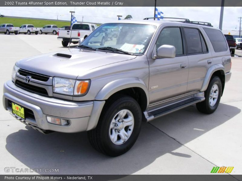 2002 toyota 4runner sport edition in thunder cloud metallic photo no 16343585. Black Bedroom Furniture Sets. Home Design Ideas