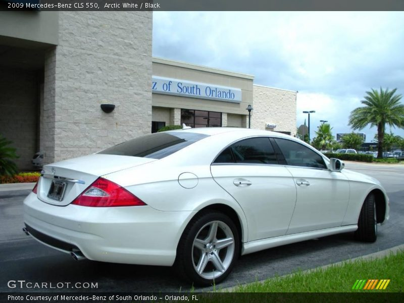 2009 mercedes benz cls 550 in arctic white photo no for Mercedes benz polar white paint