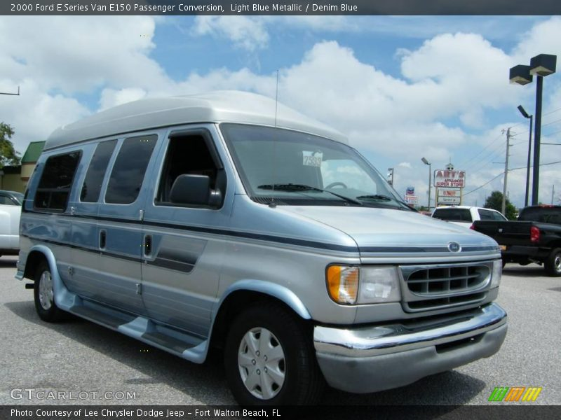 2000 ford e series van e150 passenger conversion in light. Black Bedroom Furniture Sets. Home Design Ideas