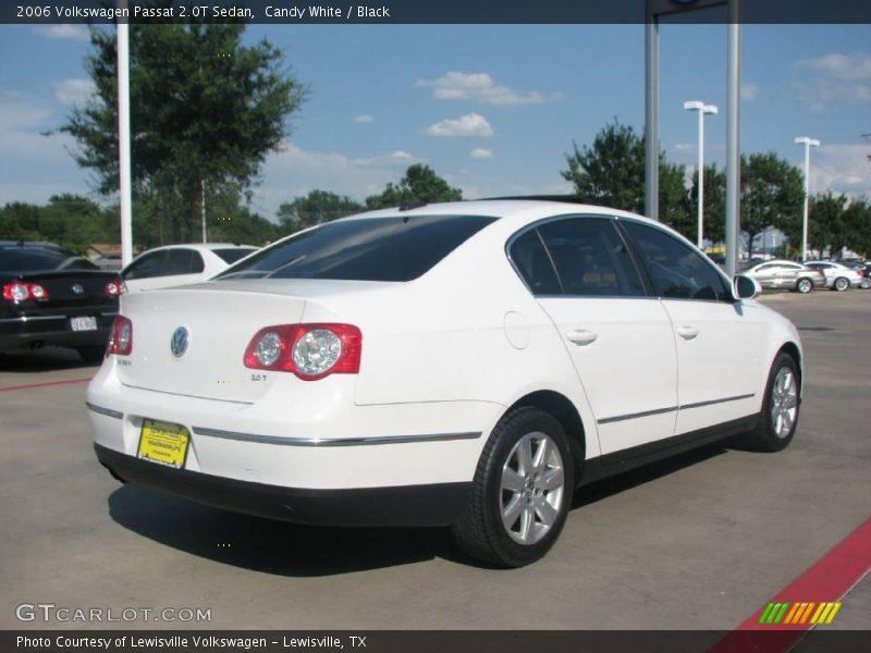 2006 volkswagen passat 2 0t sedan in candy white photo no 16366181. Black Bedroom Furniture Sets. Home Design Ideas