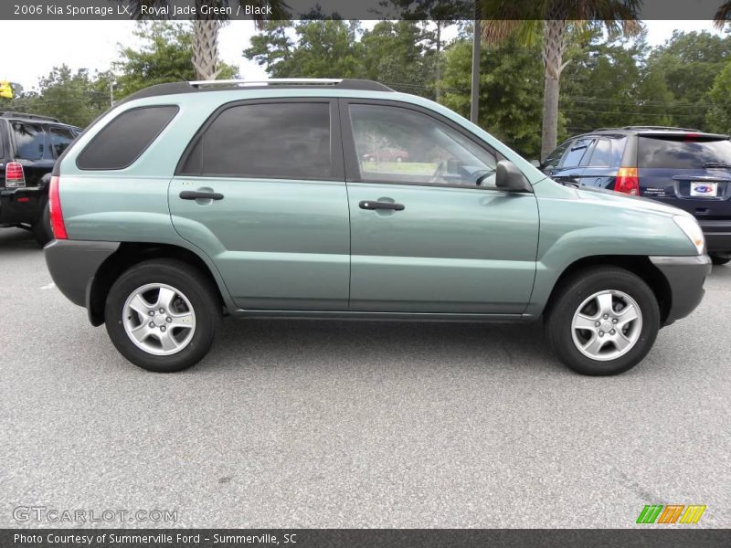 2006 kia sportage lx in royal jade green photo no. Black Bedroom Furniture Sets. Home Design Ideas