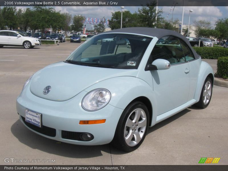 2006 volkswagen new beetle 2 5 convertible in aquarius blue photo no 16480349. Black Bedroom Furniture Sets. Home Design Ideas