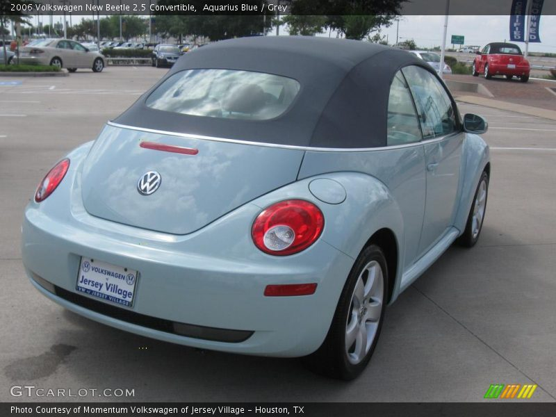 2006 volkswagen new beetle 2 5 convertible in aquarius blue photo no 16480389. Black Bedroom Furniture Sets. Home Design Ideas