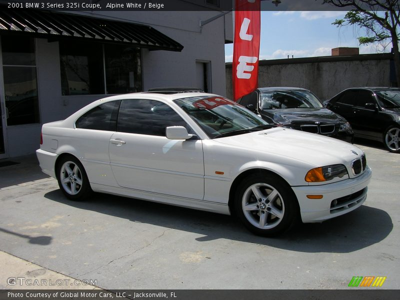 2001 bmw 3 series 325i coupe in alpine white photo no 165733. Black Bedroom Furniture Sets. Home Design Ideas