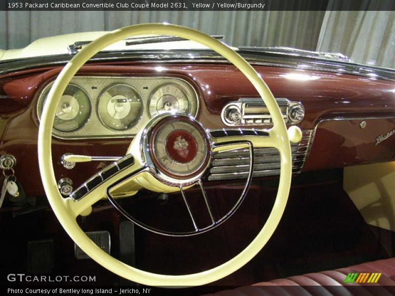 1953 Caribbean Convertible Club Coupe Model 2631 Steering Wheel
