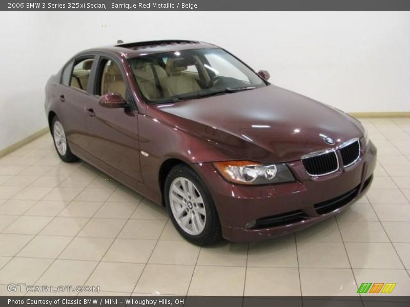 2006 bmw 3 series 325xi sedan in barrique red metallic photo no 16643412. Black Bedroom Furniture Sets. Home Design Ideas