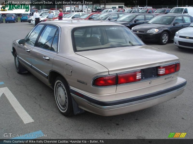 1993 buick lesabre custom sedan in light beige metallic. Black Bedroom Furniture Sets. Home Design Ideas