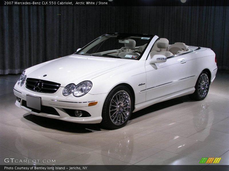 2007 mercedes benz clk 550 cabriolet in arctic white photo for Mercedes benz polar white paint