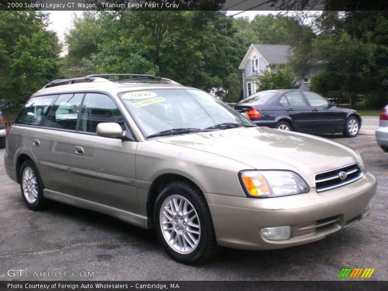 2000 subaru legacy gt wagon in titanium beige pearl photo no 16854194. Black Bedroom Furniture Sets. Home Design Ideas