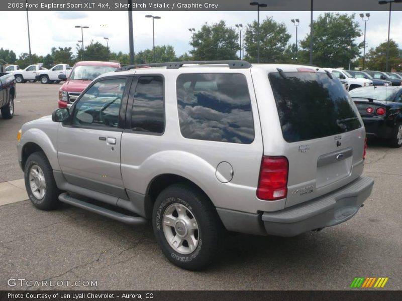 silver birch metallic graphite grey 2003 ford explorer sport xlt 4x4. Cars Review. Best American Auto & Cars Review
