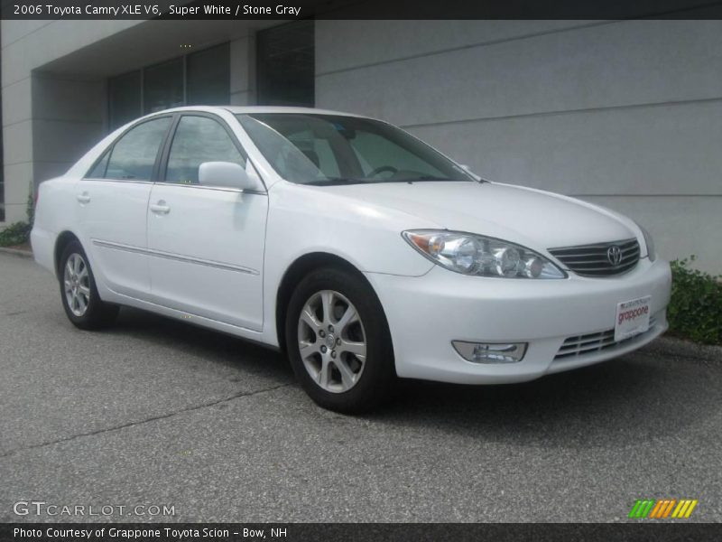 2006 toyota camry xle v6 in super white photo no 17015383. Black Bedroom Furniture Sets. Home Design Ideas