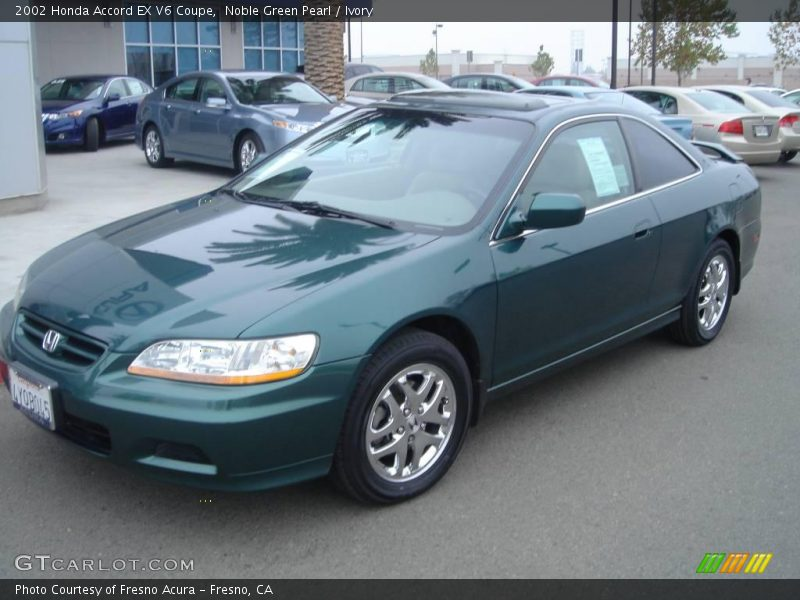 2002 honda accord ex v6 coupe in noble green pearl photo no 1704141. Black Bedroom Furniture Sets. Home Design Ideas