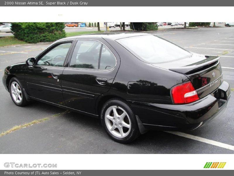 2000 Nissan Altima Se In Super Black Photo No 17064759