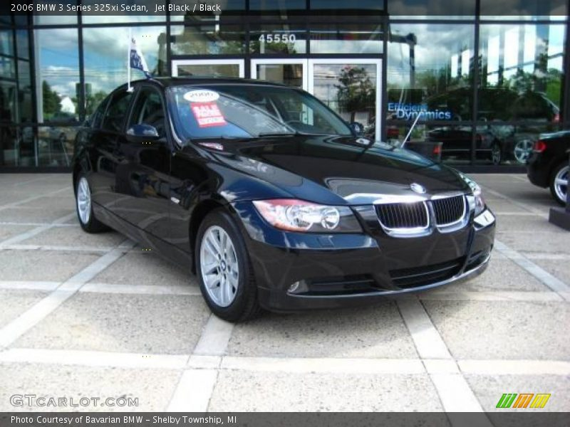 2006 bmw 3 series 325xi sedan in jet black photo no 17146104. Black Bedroom Furniture Sets. Home Design Ideas