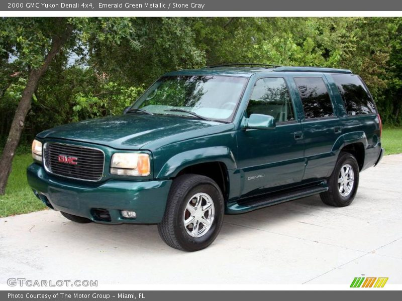 2000 gmc yukon denali 4x4 in emerald green metallic photo for G stone motors used cars