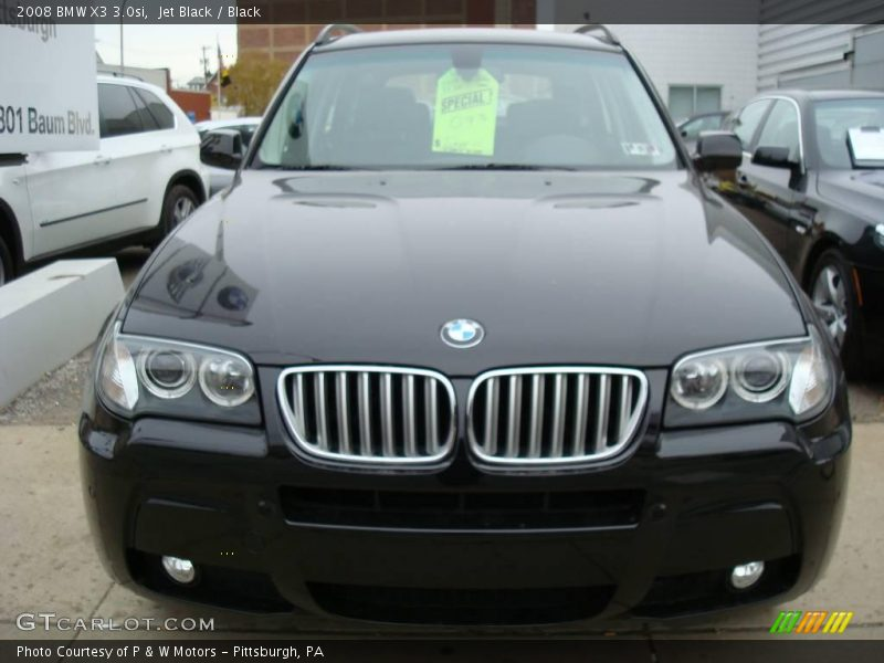 2008 bmw x3 in jet black photo no 1728722. Black Bedroom Furniture Sets. Home Design Ideas