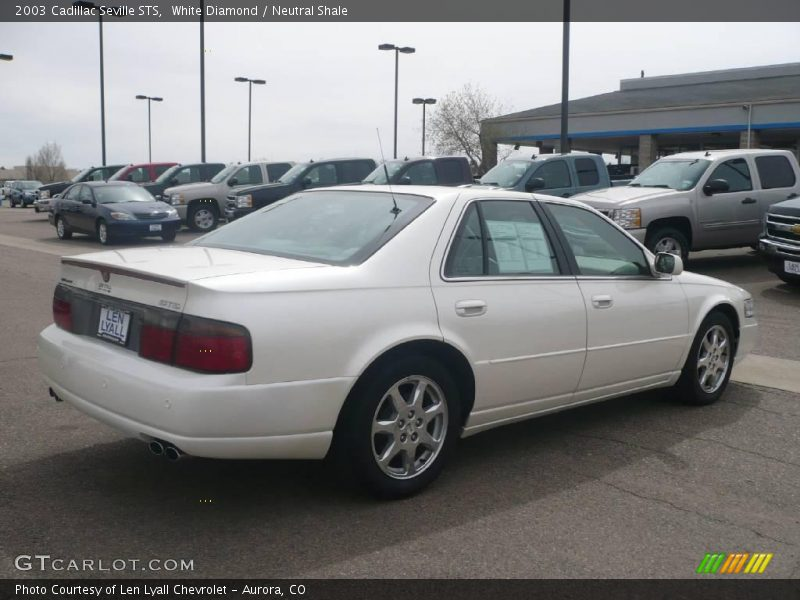 2003 cadillac seville sts in white diamond photo no 17336333. Black Bedroom Furniture Sets. Home Design Ideas