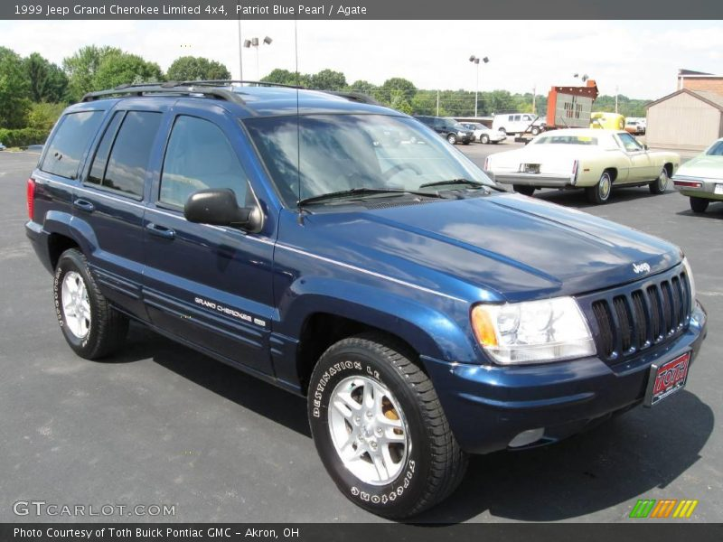 1999 jeep grand cherokee limited 4x4 in patriot blue pearl photo no. Cars Review. Best American Auto & Cars Review