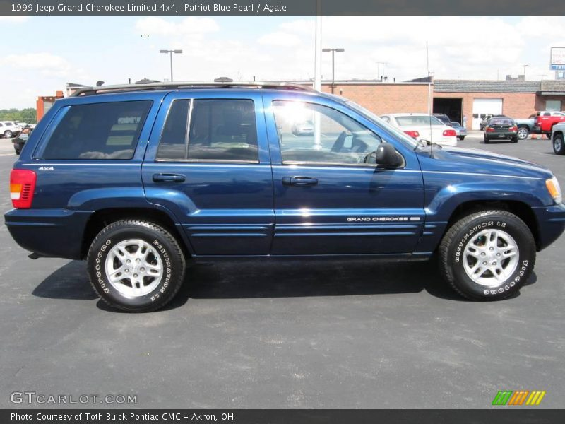 1999 Jeep Grand Cherokee Limited 4x4 in Patriot Blue Pearl ...