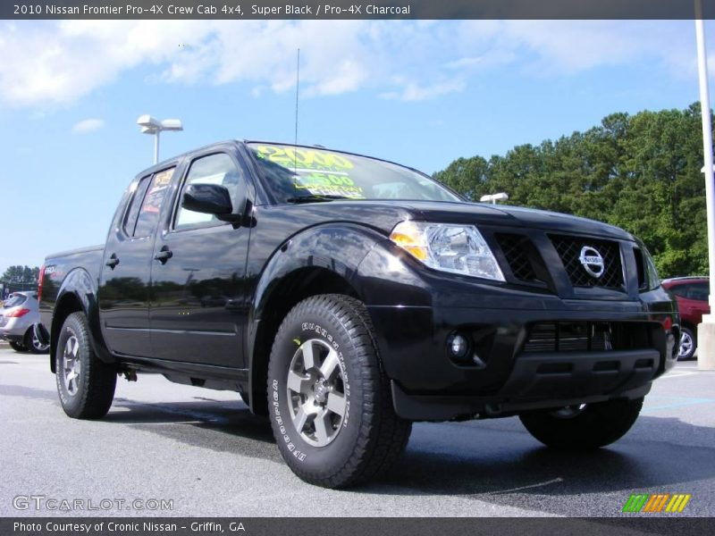 2010 nissan frontier pro 4x crew cab 4x4 in super black photo no 17720125. Black Bedroom Furniture Sets. Home Design Ideas