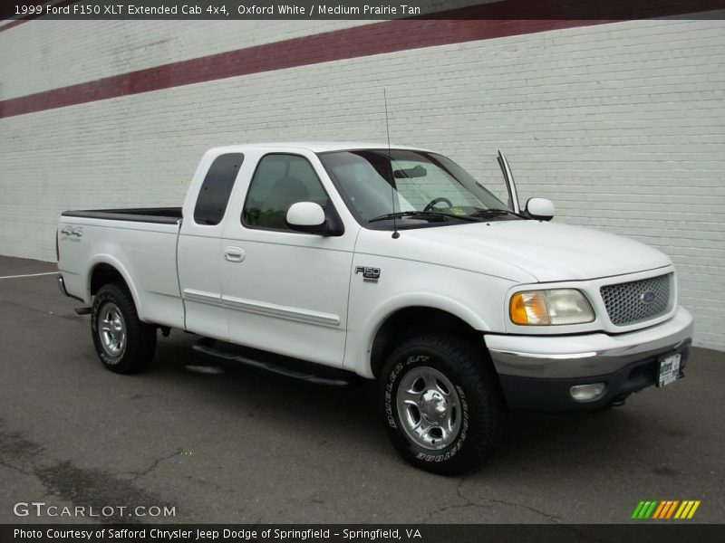 1999 ford f150 xlt extended cab 4x4 in oxford white photo no 17720647. Black Bedroom Furniture Sets. Home Design Ideas