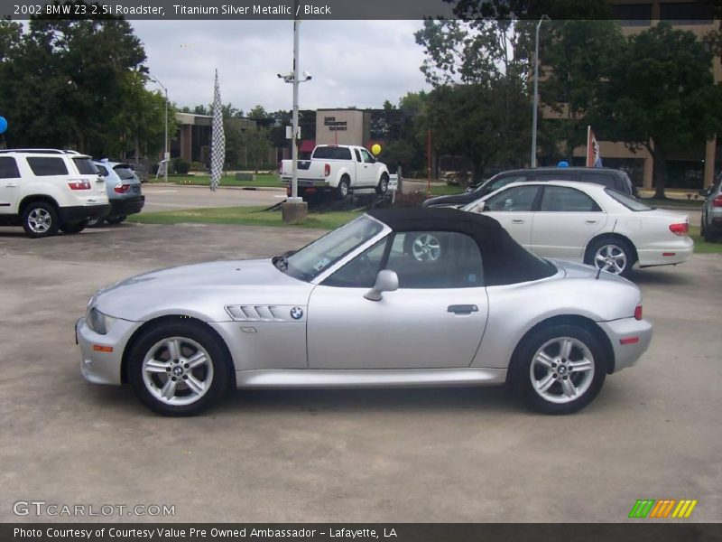 2002 Bmw Z3 2 5i Roadster In Titanium Silver Metallic