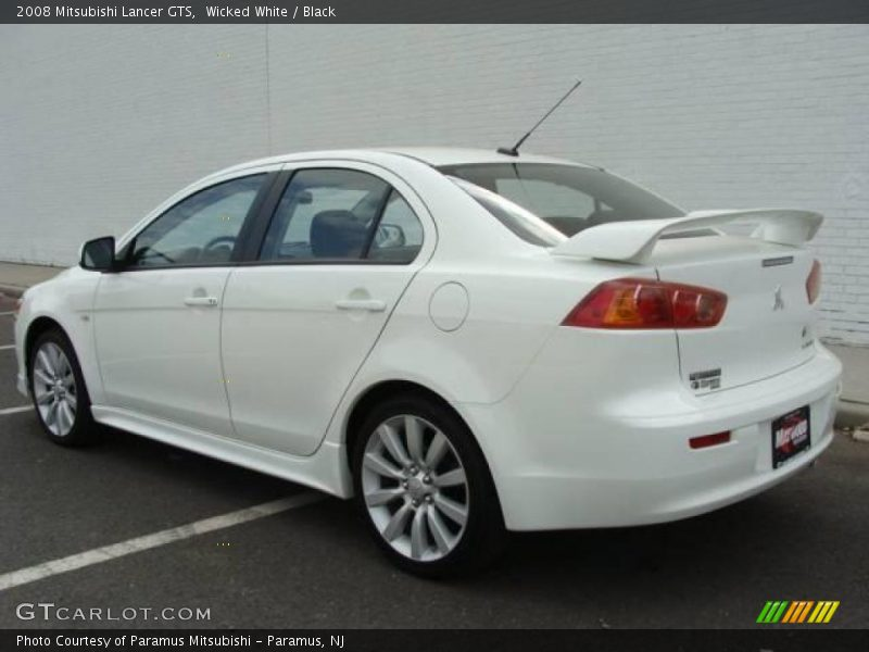 2008 mitsubishi lancer gts in wicked white photo no 17775032. Black Bedroom Furniture Sets. Home Design Ideas